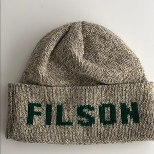 NWOT Filson Seattle Watch Cap MENS Wool Beanie